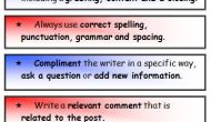 Teaching Blogging and Writing Great BlogComments